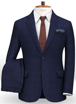 Prince Wool Blue Suit