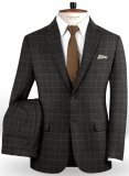 Napolean Criss Charcoal Wool Suit