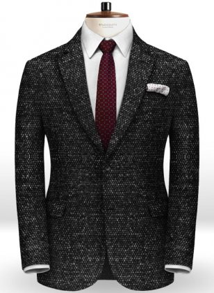 Italian Tweed Pierre Jacket