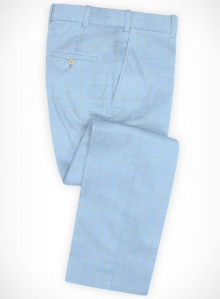 Cotton Nolfi Blue Pants