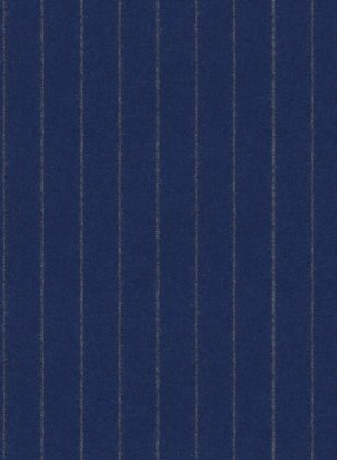 Reda Flannel Stripe Royal Blue Pure Wool Suit