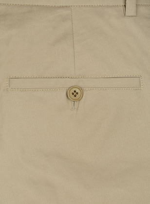 Summer Weight Lt Khaki Tailored Chinos