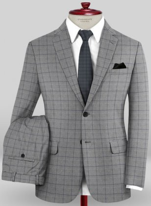 Caccioppoli Sun Dream Rivera Gray Suit
