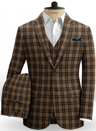 Lothian Checks Tweed Suit