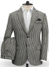 Big Houndstooth BW Tweed Suit