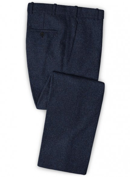 Playman Blue Denim Tweed Pants