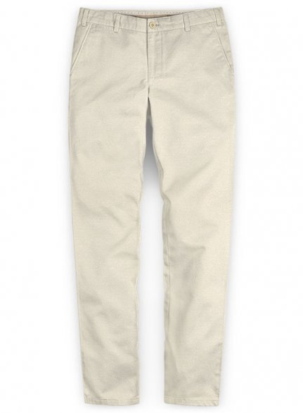 Washed River Beige Chinos