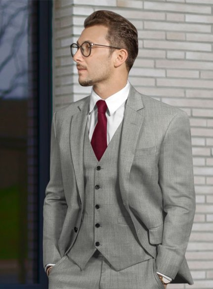 Zegna Trofeo Mid Gray Wool Jacket