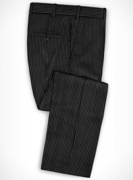 Cotton Aloisi Black Pants