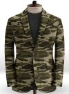 Beige Stretch Camo Jacket