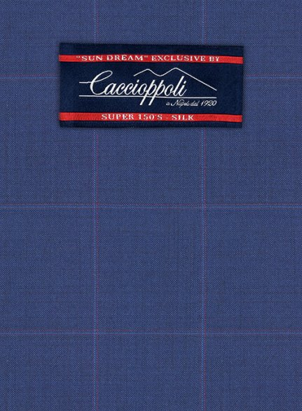 Caccioppoli Sun Dream Serari Blue Jacket