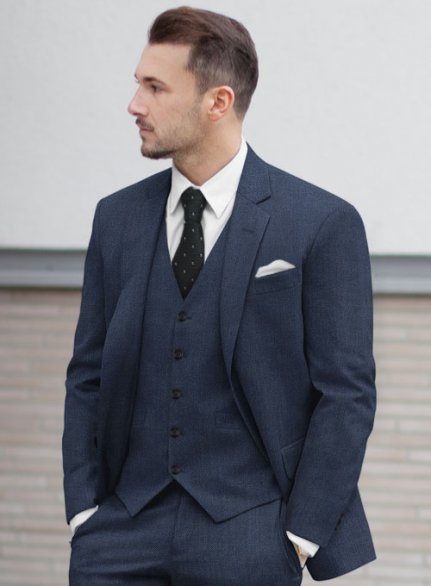 Zegna Trofeo Royal Blue Wool Jacket