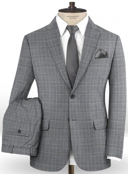 Reda Gorte Gray Wool Suit