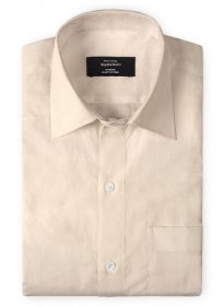 Pale Pink Cotton Linen Shirt