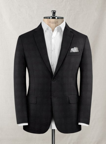 Zegna Onceto Gray Brown Wool Jacket
