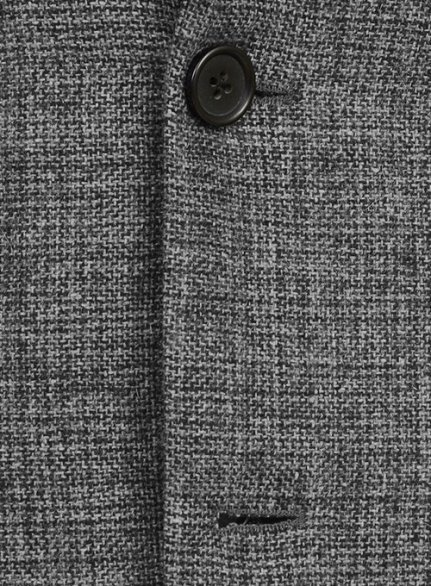 Vintage Glasgow Gray Tweed Suit - Ready Size