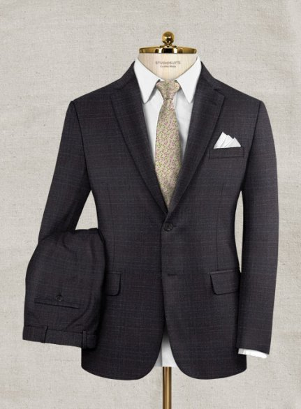 Italian Wool Cashmere Trilla Suit