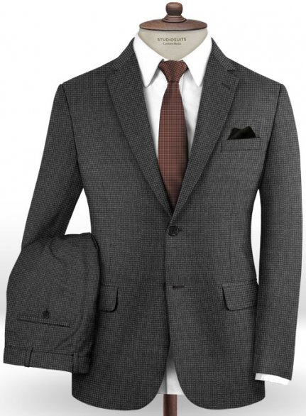 Cerruti Liatra Gray Wool Silk Suit