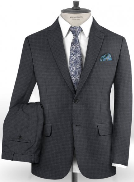 Reda Curto Gray Wool Suit