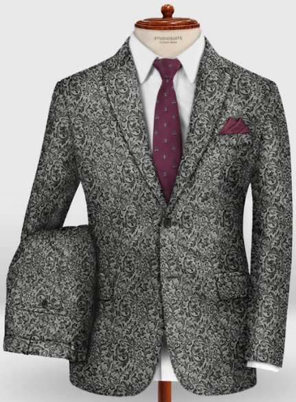 Graffiti Andron Wool Suit
