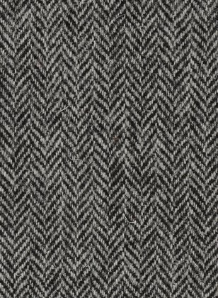 Harris Tweed Gray Herringbone Suit