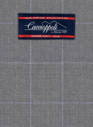 Caccioppoli Sun Dream Jappo Gray Suit