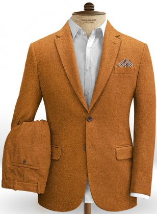 Melange Rust Tweed Suit