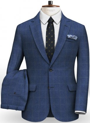 Cashmere Flannel Kira Wool Suit