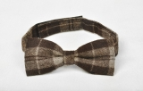Tweed Bow - Brown Scot Tweed