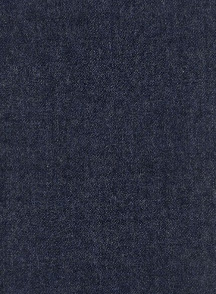 Italian Wool Cashmere Empire Blue Suit