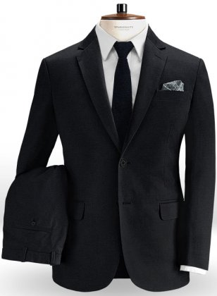 Dark Navy Blue Chino Suit