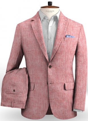 Solbiati Rose Linen Suit
