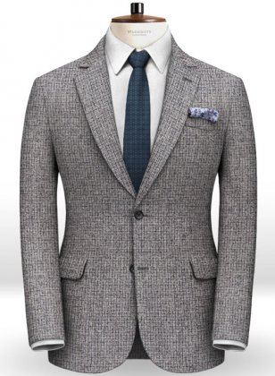 Italian Tweed Damo Jacket