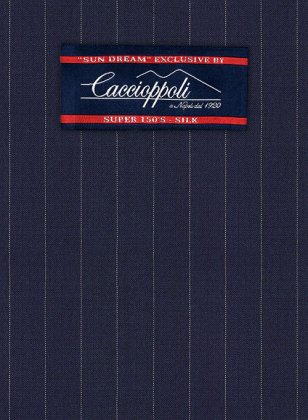 Caccioppoli Sun Dream Sodina Navy Blue Suit