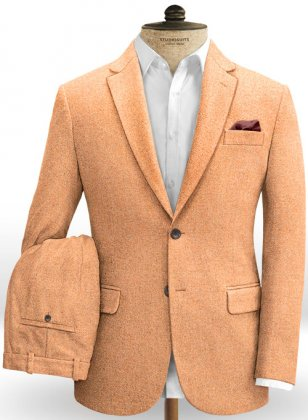 Melange Musk Tweed Suit