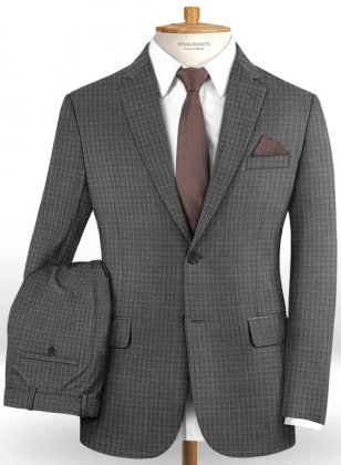 Reda Luglo Gray Wool Suit
