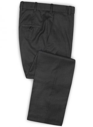 Reda Fetto Gray Wool Pants