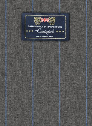 Caccioppoli Dapper Dandy Tarazo Gray Suit