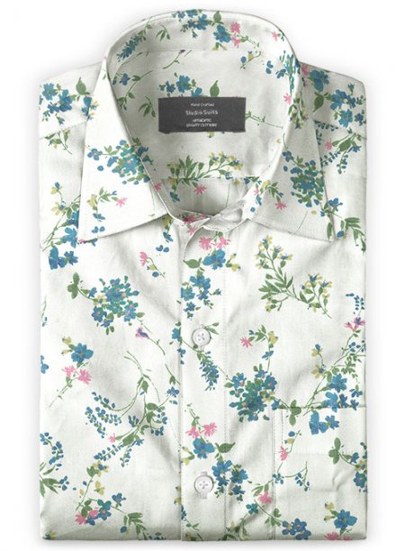 Italian Cotton Deni Shirt