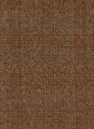 Saga Rust Feather Tweed Suit