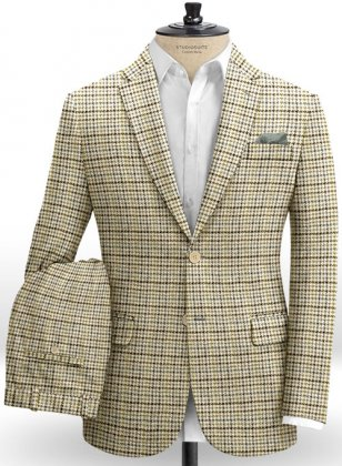 Harris Tweed Classic Fawn Suit