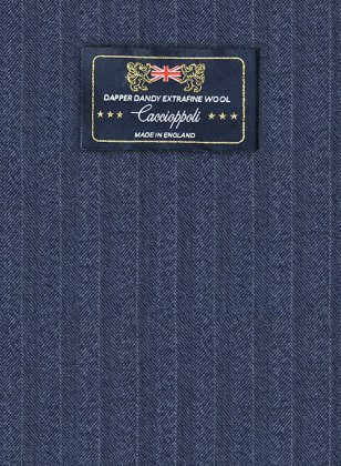 Caccioppoli Dapper Dandy Rienza Blue Suit