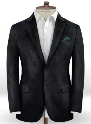 Italian Wool Silk Zagi Jacket