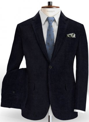 Blue Corduroy Suit