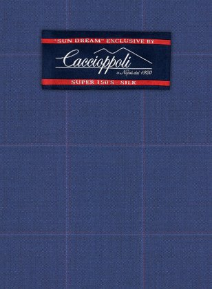 Caccioppoli Sun Dream Serari Blue Suit