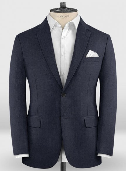 Zegna Traveller Blue Wool Jacket