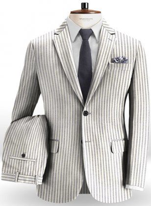 Italian Cotton Indus Suit