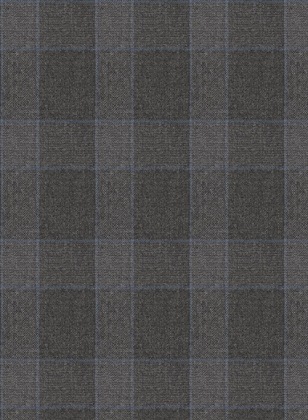 Charcoal Mont Checks Flannel Wool Jacket