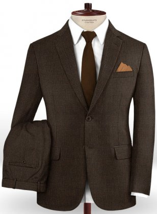Caccioppoli Dapper Dandy Fiunti Brown Suit