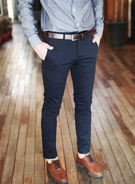 Stretch Chino Dress Pants
